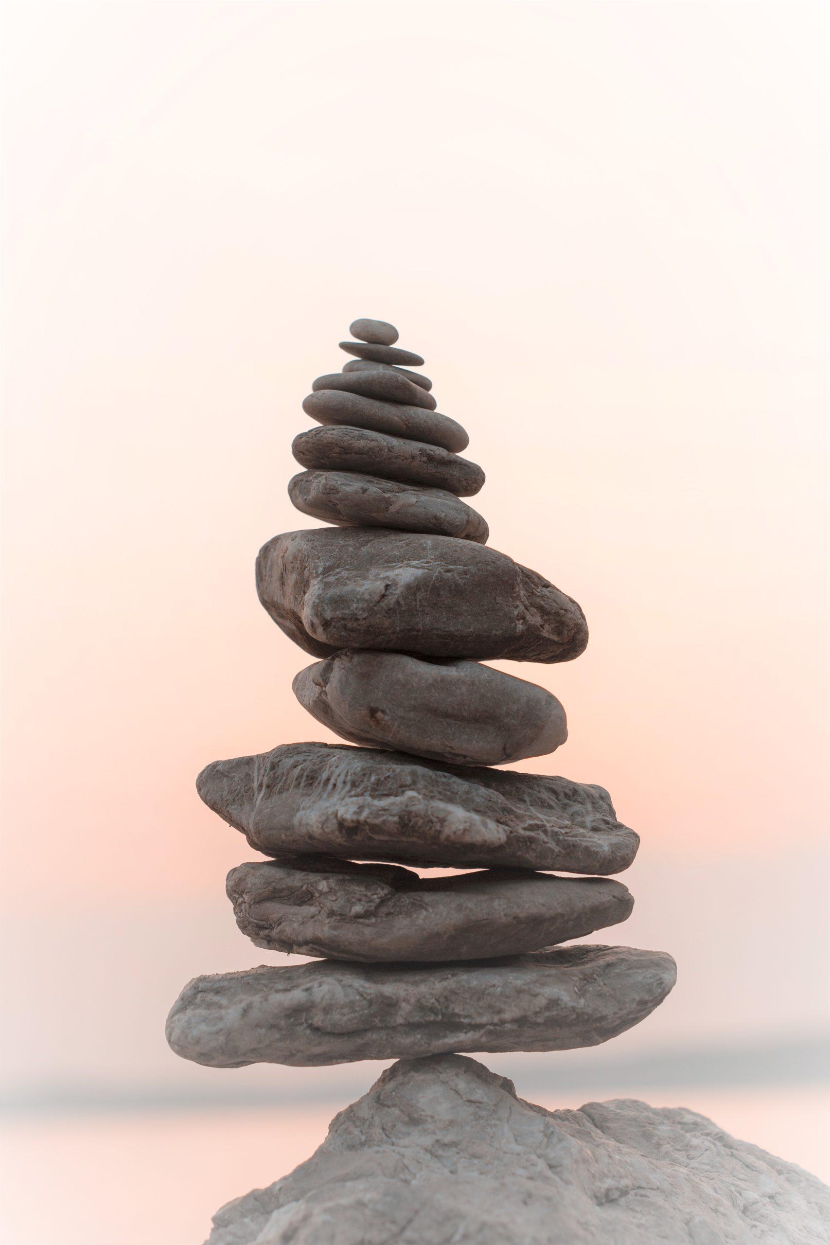 4 hindernissen stenen